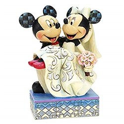 Cake Topper Congratulations - Mickey & Minnie - 4033282