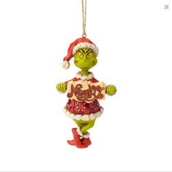 Ornament Naughty or Nice - Grinch - 6002073