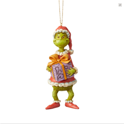 Ornament Holding Christmas Tree - Grinch - 6004067
