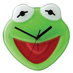 Time to fulfil your dreams - Wall Clock - Kermit  - A24799