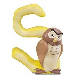Magnetisch Alfabet Letter S - Owl