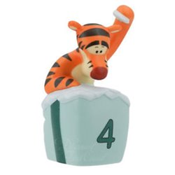 FOUR Is For Bounces,Giggles And Grins - Tigger