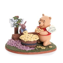 In SPRING Our World Is Bright And New (Numbered Limited Edition) - Pooh & Roo