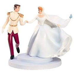 Fairy Tale Wedding - Prince Charming & Cinderella Cake Topper