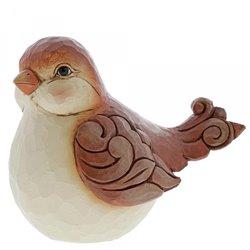 A Sparrow's Song (Tan Bird Figurine)
