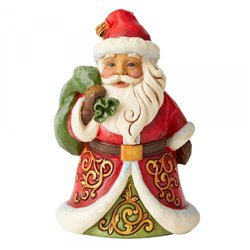 Be True & Believe (Pint Sized Santa With Bag Over Shoulder) N