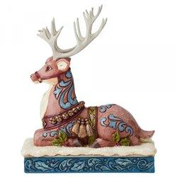 Calm Before The Eve (Victorian Reindeer Lying Down) N