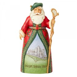 Celtic Christmas Greetings (Irish Santa) N