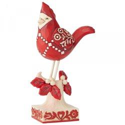 Find Your Winter Song (Nordic Noel Cardinal Figurine)