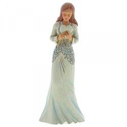 Forever In My Heart (Girl Holding Heart Figurine)