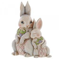 Forever My Honey Bunny (Double Bunnies Figurine)
