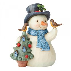 Heartfelt Holidays (Snowman with Tree and Birdhouse Pint-Siz