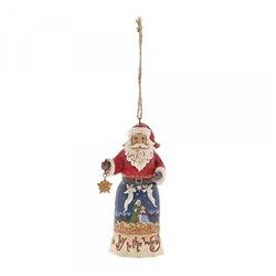 Joy to the World Santa (Hanging ornament)