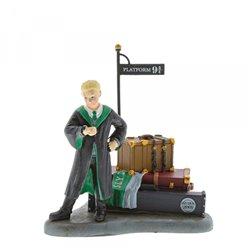 Draco Waits at Platform 9 3/4 Figurine