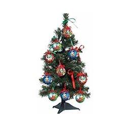 13 dlg Kerstboom met onbreekbare ornamenten 60cm - Mickey & Co II