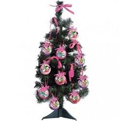 13 dlg Kerstboom met onbreekbare ornamenten 60cm - Minnie II