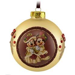 7488 Bal Ornament Victoriaans - Mickey & Minnie