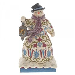 Be The Light (Victorian Snowman with Lantern)