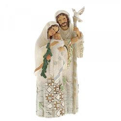 Pure And Perfect Love (White Woodland Holy Family)