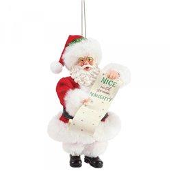 Naughty and Nice Ornament