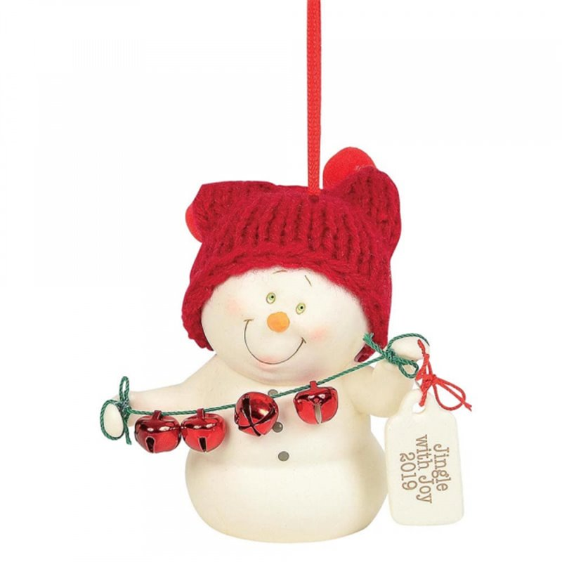 Jingle with Joy 2019 (Hanging Ornament)