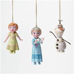 3Dlg Set Ornamenten - Anna, Elsa & Olaf