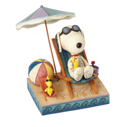 Beach Buddies - Snoopy & Woodstock