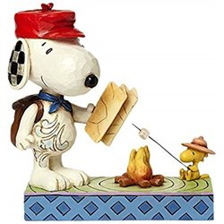 Campfire Friends - Snoopy and Woodstock