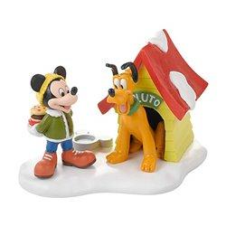 Pluto's Dog House - Mickey & Pluto