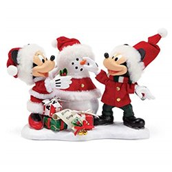 Possible Dreams - Snow Santa - Mickey & Minnie - 6000684 - 6000684