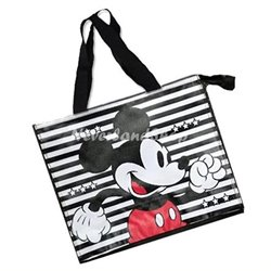Shopper met Rits Stripes - Mickey Mouse