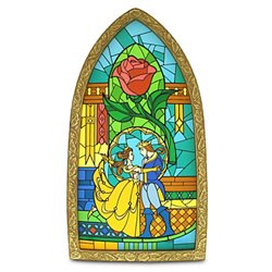 Stained Glass - Beauty & the Beast