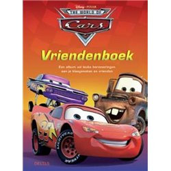 Vriendenboek - Cars
