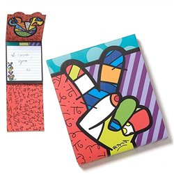 Notitieblok by Britto -  Peace, Love & Mickey