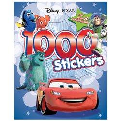1000 Stickers Spelletjes boek - Pixar
