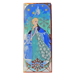 Princess Mucha Inspired - Elsa