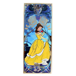 Princess Mucha Inspired - Belle