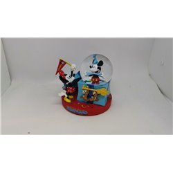 Small Snowglobe Party Mickey & Minnie