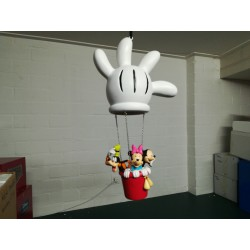 Fingendi Hand Balloon...