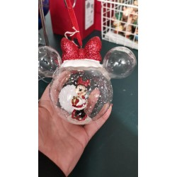 Minnie Mouse glazen oren bal