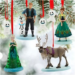 Ornament Set - Frozen
