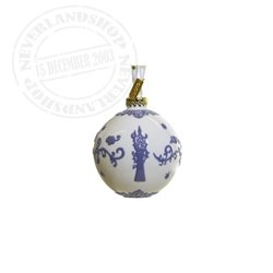 White/Purple Ceramic Ornament - Rapunzel