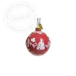 Red/White  Ceramic Ornament - The Little Mermaid