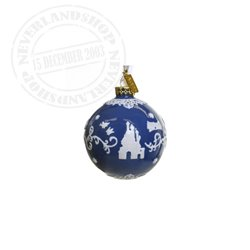 DBlue/White Ceramic Ornament - Snow White