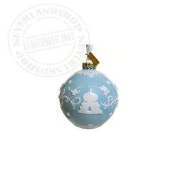 Blue/White  Ceramic Ornament - Aladdin