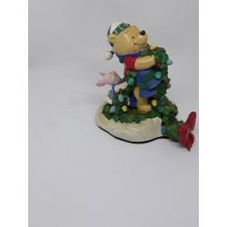 Kerstsok houder Pooh & Piglet