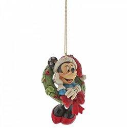 3D Ornament Christmas Wreath - Minnie - A30356