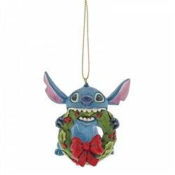 3D Ornament Christmas Wreath - Stitch - A30357