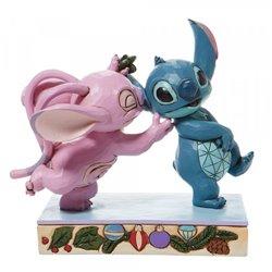 Mistletoe Kisses - Angel & Stitch  - 6008980