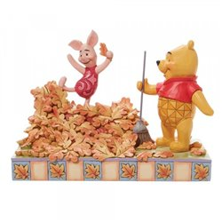 Jumping into Fall - Pooh & Piglet - 6008990